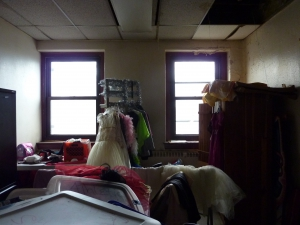 photo of recreation center costume room